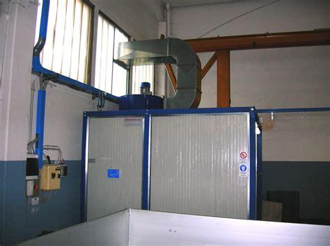cabine di verniciatura cabine di verniciatura a spruzzo con sistema di