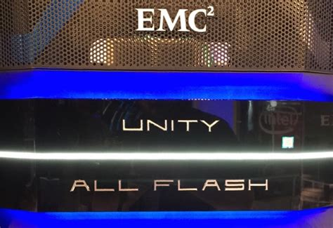 Emc Unity With Native Virtual Volumes Support