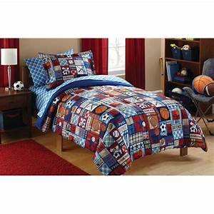 Your, Zone, Sports, Patch, Bed, In, A, Bag, Coordinating, Bedding