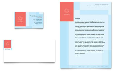 business card size template pdf communications company business card letterhead template