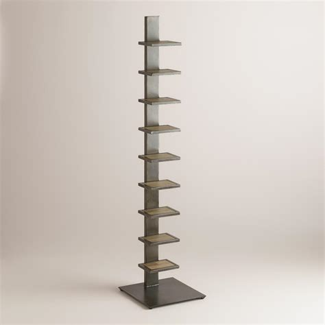 Tower Bookshelf elin tower bookshelf world market