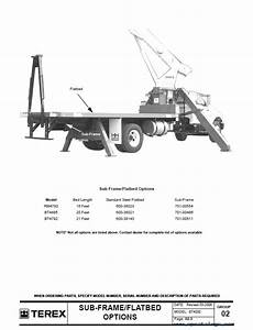 Terex Bt4000 Crane Download Parts Manual In Pdf Format