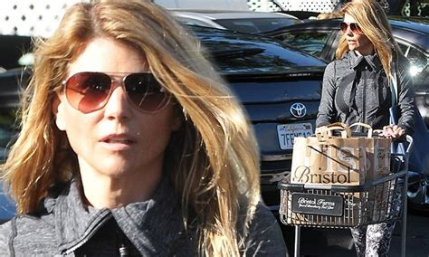 Lori Loughlin shows off her figure in Beverly Hills in ...