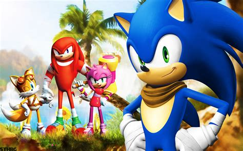 Sonic The Hedgehog Desktop Backgrounds Sonic X Wallpaper 63 Images