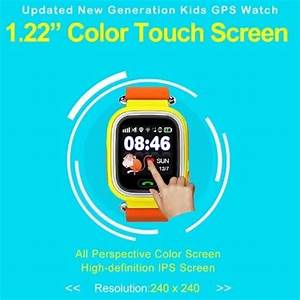 Child Gps Smart Watch Q90 With Wifi Touch Screen Children