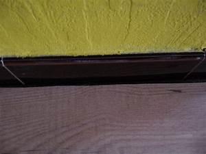 joint a mettre entre parquet flottant et anciennes plinthes With joint parquet flottant