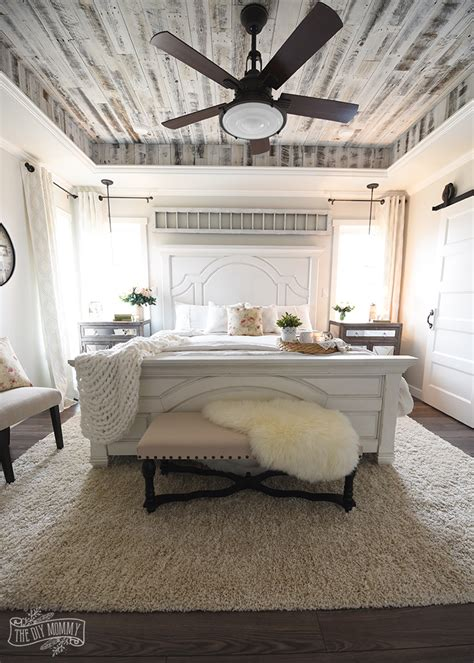 Our Modern French Country Master Bedroom – One Room