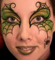 images  facepainting spiders webs