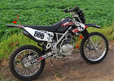 Gambar Motor Kawasaki Klx by Modifikasi Motor Klx Modifikasi Motor Kawasaki Honda Yamaha