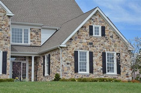 Natural Stone Facade For House Exterior Inspirationseek