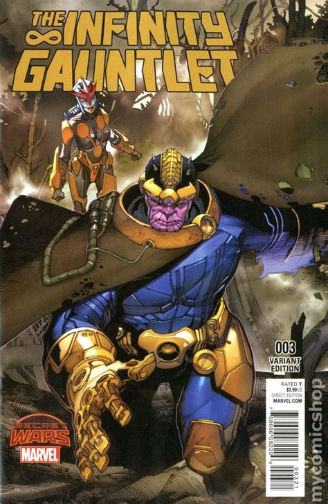 infinity gauntlet   series comic books