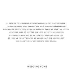 authentic  playful wedding vows     slb