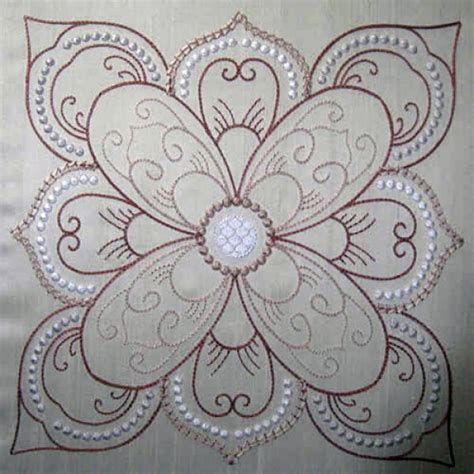 embroidery quilting designs 41 best embroidery candlewicking images on