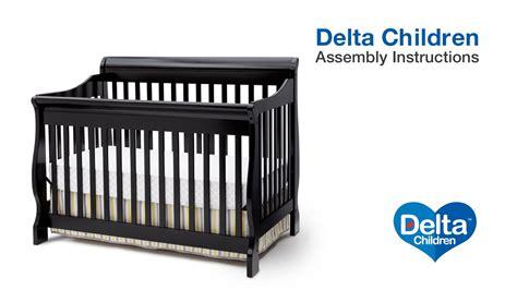 delta children canton 4 in 1 convertible crib delta children canton 4 in 1 version b crib assembly