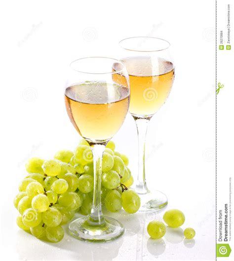 disegni di bicchieri bicchieri di con la vite e l uva da tavola fotografia