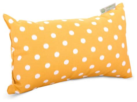 outdoor citrus ikat dot small pillow modern outdoor