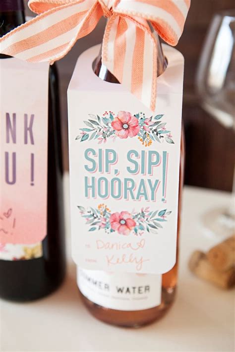check    printable wine bottle gift tags