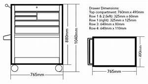 Professional Heavy Duty Tool Cart  U0026 Parts Trolley