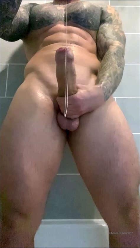 Chris Hatton Shows His Big Uncut English Cock