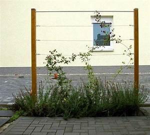 Rankhilfe Holz Selber Bauen : spannseile rankhilfe edelstahl sets in ~ Watch28wear.com Haus und Dekorationen