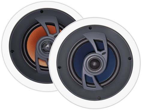 Angled In Ceiling Surround Speakers by Osd Audio Ice660 6 5 Inch Polypropylene 150