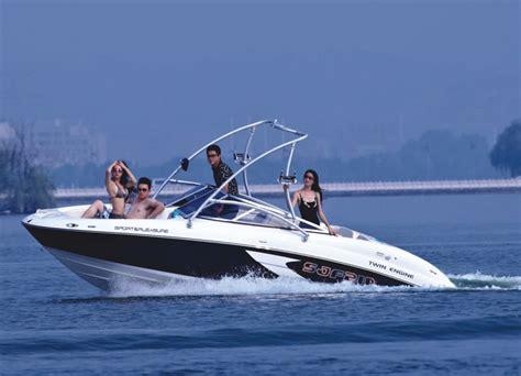 Small Ski Boat by Inboard Engine Jet Boat Sport Yacht Sport Boat Water Ski