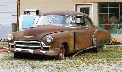 Rusty Car With A Sad Face By Crystalmarine