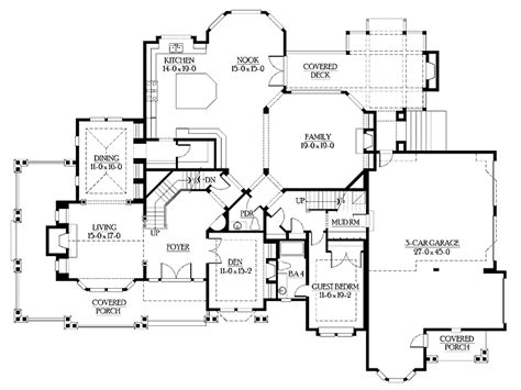 luxury master suite floor plans luxury master suite with sitting room and fireplace hwbdo58975 craftsman house plan from