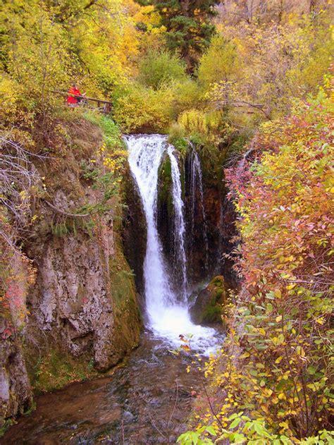 town  south dakota   fall foliage