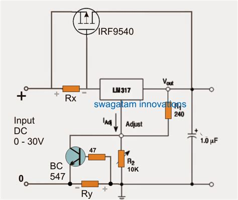 the popular lm317 voltage regulator ic is designed to deliver not more than 1 5 s however by