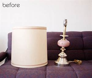 before after brass lamp redo bench makeover design With brass floor lamp redo