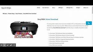 Hp Envy 7858 Driver Download
