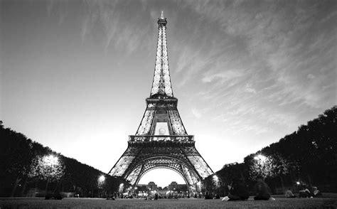 Paris Paris Black And White