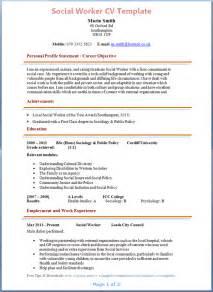 Social-worker-cv-example