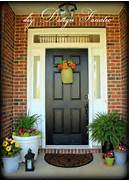 Front Door Paint Colors For Brick Homes by Sure Fit Slipcovers Choosing A Paint Color To Personalize Your Front Door
