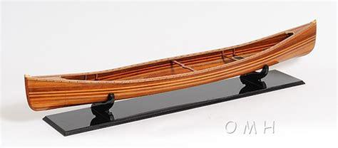 Canoe Boat Ebay by Canadian Cedar Canoe Wood Boat Display Model 44 Quot Ebay