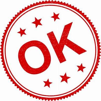 Ok Transparent Stamp Stampile Svg Pngio Rotunde