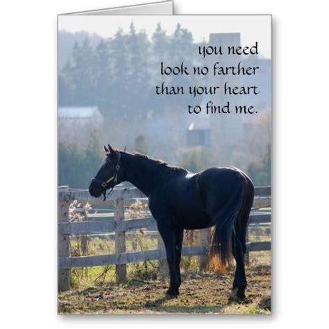 pet loss sympathy card  horse lovers  beautiful