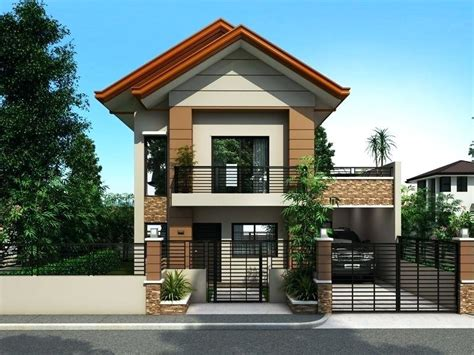 Bungalow House Design Philippines Low Cost One Storey