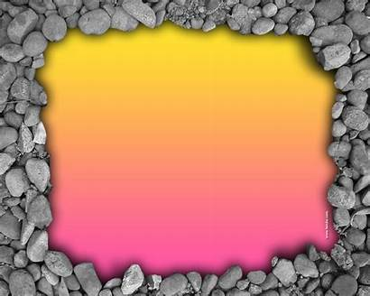 Border Wallpapers Simple Frame Pink Stone