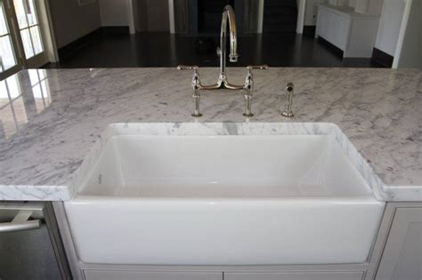 how to install a farm sink farmhouse sink options for kitchen homesfeed