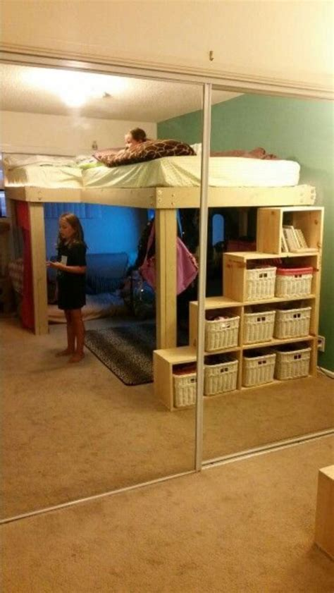 awesome cool loft bed design ideas  inspirations