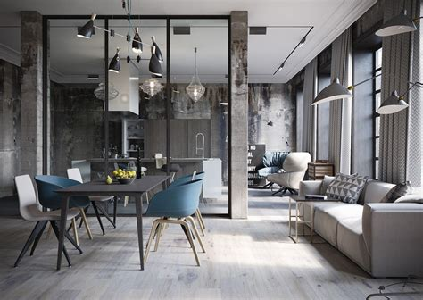Industrial Lofts : 2 Chic And Cozy Cosmopolitan Lofts