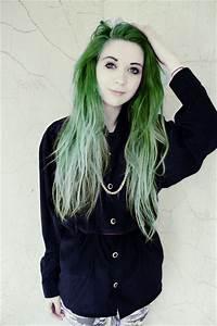 alternative, beautiful, cute, dyed hair - image #748555 on ...