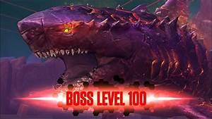 MEGALODON BOSS COLOSSUS 04 LEVEL 100 Jurassic World The