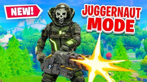 juggernaut mode  fortnite battle royale youtube
