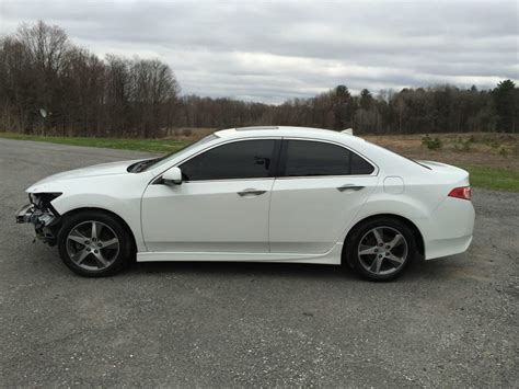Acura Tsx 2012 For Sale by Special Edition 2012 Acura Tsx 4 Door Repairable Wrecked