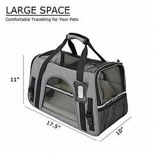 Sac De Voyage Cabine Avion : sac transport chien avion cabine pour 2018 le top 7 transporter son chien ~ Melissatoandfro.com Idées de Décoration