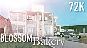 blossom bloxburg google search  images house blueprints cafe pictures house styles