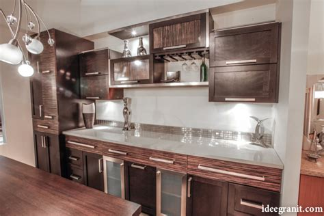comptoir de cuisine quartz ou granit idée granit granit quartz marbre québec comptoirs